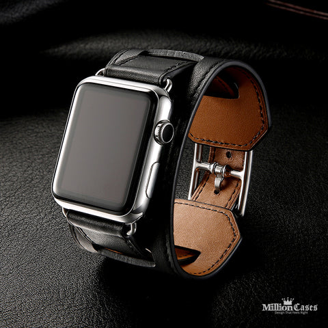 Luxury Classic Original Leather Bracelet Belt for Apple Watch