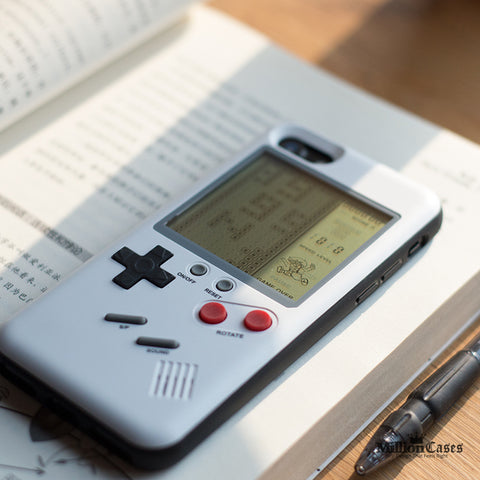 Gameboy Style Hard Protection Phone Case for iPhone