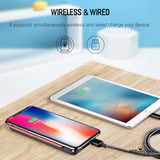 Power Bank 8000mAh with Digital Display Portable External Battery