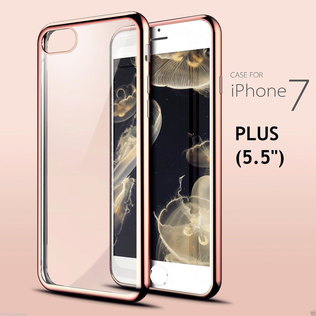 116cef10cc Sale Luxury Gold Metal Plating Hard PC Case For iPhone 7 Plus 8