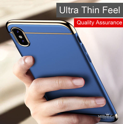 Luxury Ultra Slim PC Hard Case for Apple iPhone X