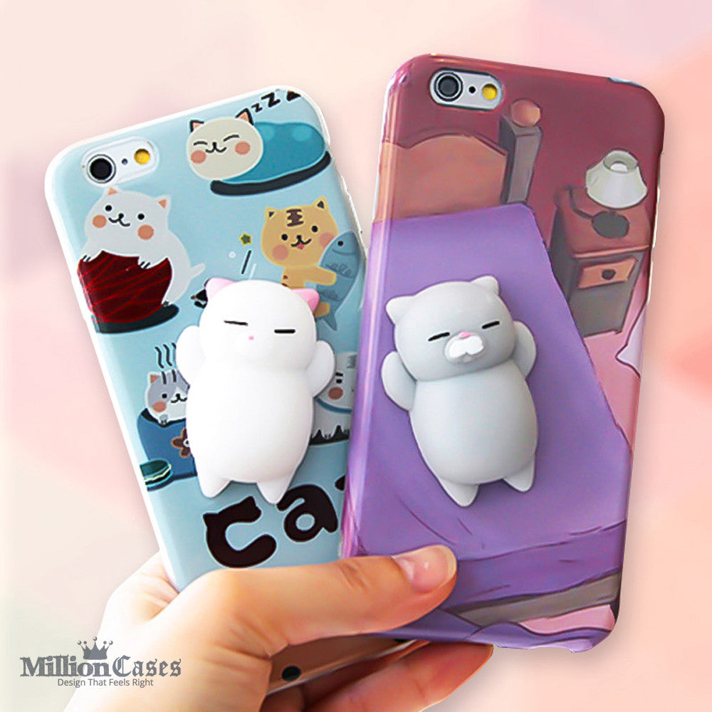 Squishy Bread Iphone 6 Case : 3D Cute Soft Silicone Toy Squishy Phone Case for iPhone 7 7 plus ? Million Cases    - Designs That ...