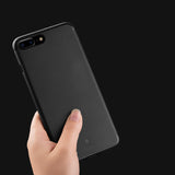 Luxury Clear Ultra Thin Back Cover Case for iPhone 7/7 Plus