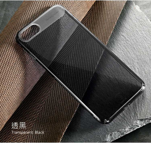 iPhone 7,7 Plus Thin & Transparent Safe Skid Resistance PC Back Case