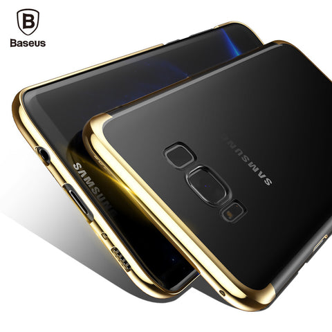 Samsung Galaxy S8, S8 Plus Transparent Hard Case