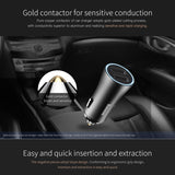 LED 2 USB Car Charger Adapter for Phone