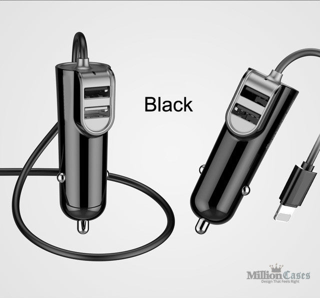 Travel Car-Charger Adapter for iPhone and iPad