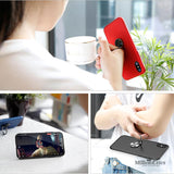 Ultra Thin Finger Ring Holder Full Protective Case for iPhone X