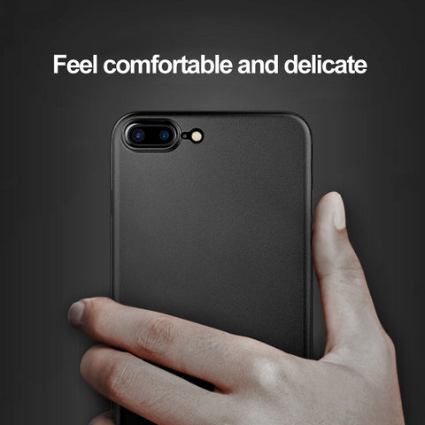iPhone 7, 7 Plus Cover Case Ultra Thin Slim Matte Protective Shell Back Cover