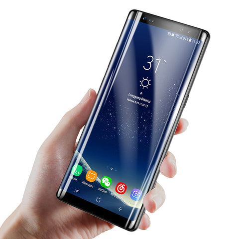 3D Arc Tempered Glass For Galaxy Note 8