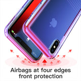 Baseus Gradient Shockproof Case For iPhone X