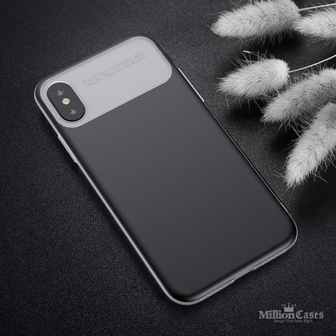 Luxury Armor Ultra Thin TPU PC Double Protection Case for iPhone X