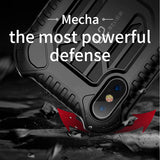 Baseus Military Armor Case For iPhone XS