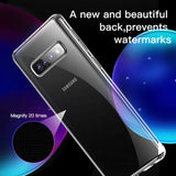Baseus Shockproof Transparent Silicone Case For Galaxy S10/ S10 Plus