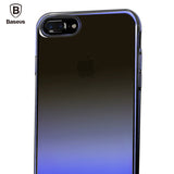 iPhone 7,7 Plus Luxury Aurora Gradient Color Transparent Hard Case