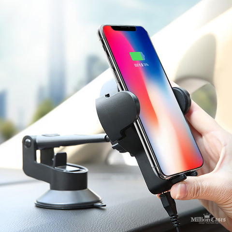 Car Holder Stand Qi Wireless Charger