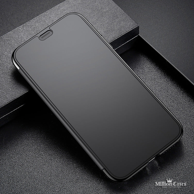 iPhone X Touchable Glass Flip Cover + TPU Back Shell Case