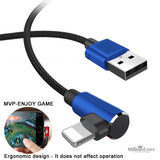 90 Degree USB Data Cable for iPhone