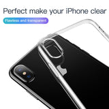Luxury Ultra Thin Transparent Case For iPhone XS, XS Max
