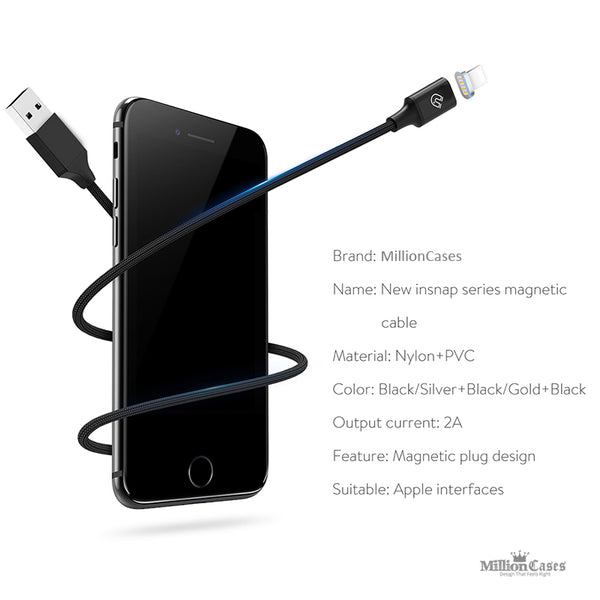 Magnetic Cable for iPhone USB Cable Adapter