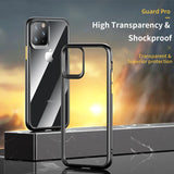 ROCK Crystal Clear Transparent Hybrid Case for iPhone 11 Series