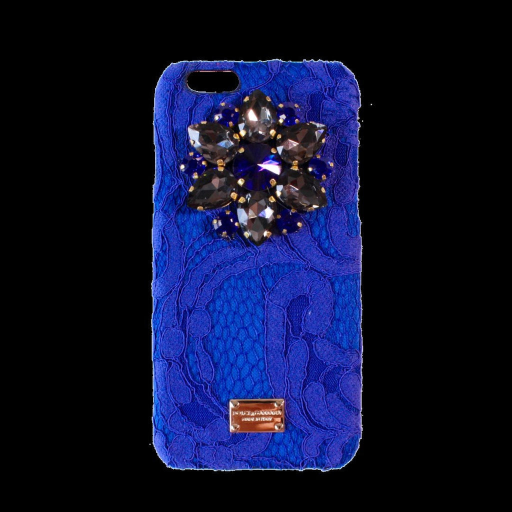 new style b1dae 58a95 iPhone 7 Dolce & Gabbana Rainbow Lace Crystal Case