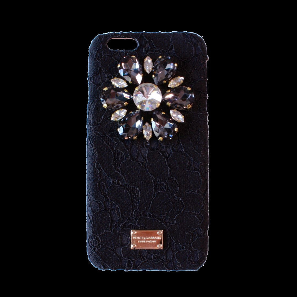 iPhone 7 Dolce & Gabbana Rainbow Lace Crystal Case