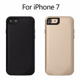 iPhone 7, 7Plus Dual SIM Dual Standby Shell Ultra-thin Battery Power Bank Case