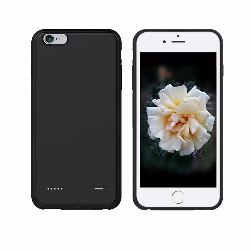 finest selection 84c5d 2a88d iPhone 7, 7Plus Dual SIM Dual Standby Shell Ultra-thin Battery Power Bank  Case