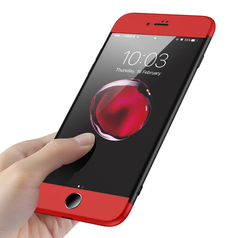360 Hard Conque Phone Case for iPhone