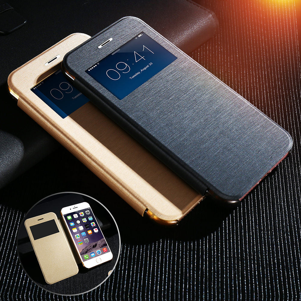 new arrival 7c3b3 d0f66 New Apple iPhone 7 Vintage Fabric Flip Case Cover