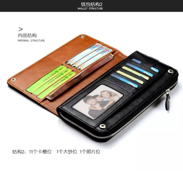 iPhone 7,7 Plus & Galaxy S7, Note 7 Luxury England Series Wallet Genuine Leather Case