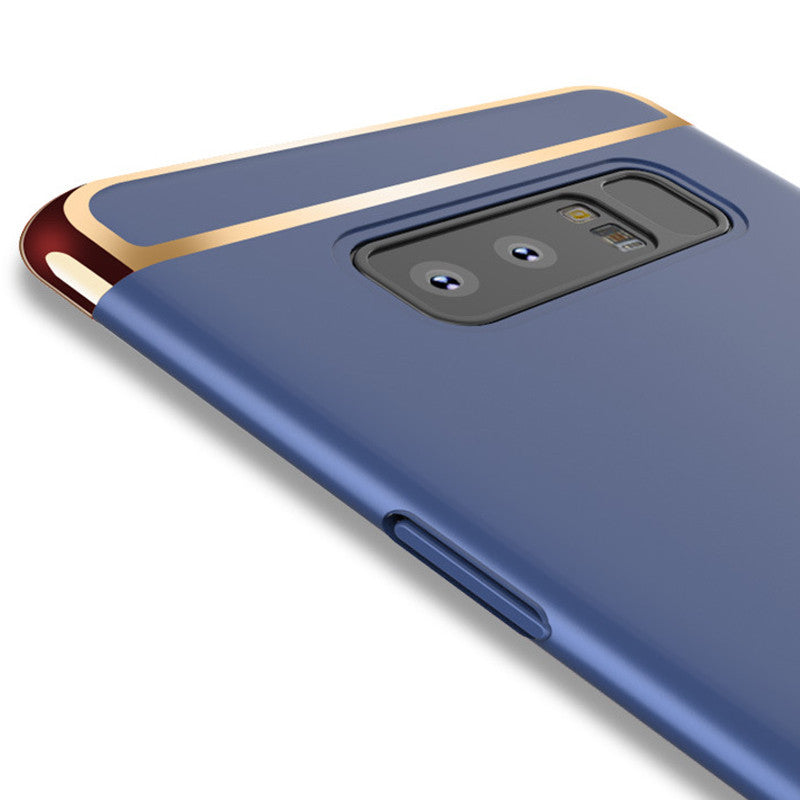 ... Luxury Gold Plating 3 in 1 Back Case for Samsung Galaxy Note 8 ... 9b3491ea1fa1