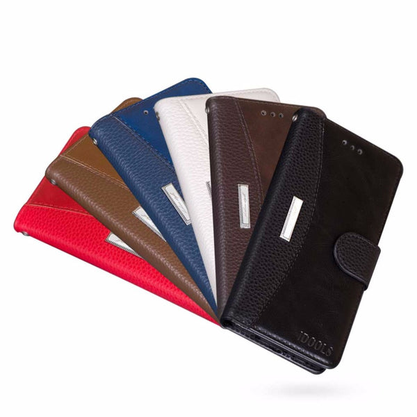 Leather Dirt Resistant Wallet Flip Cover for iPhone 7