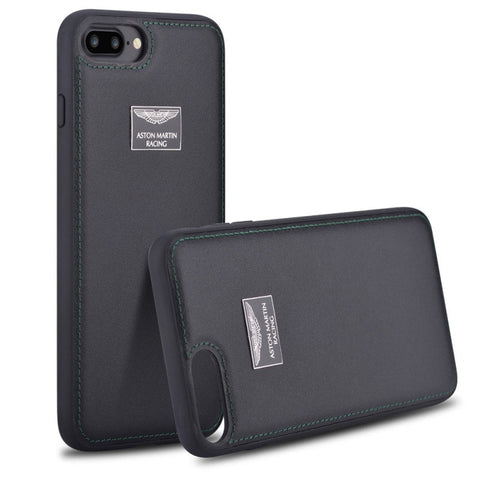 Original Aston Martin iPhone 7, 7 Plus Genuine Leather Case
