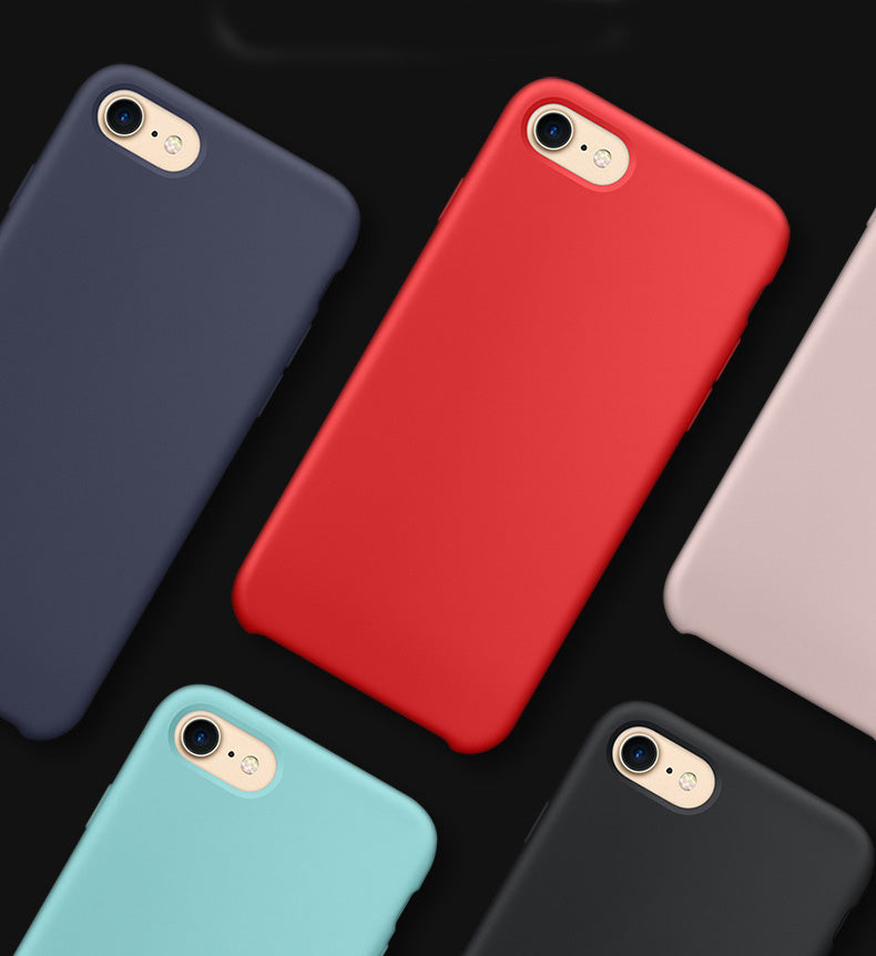 huge discount 7e900 4c13a Luxury Liquid Silicone Case For Apple iPhone