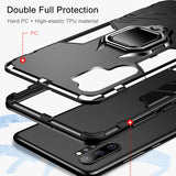 Bumper Ring Holder Metal Case for Galaxy Note 10 / Note 10 Plus