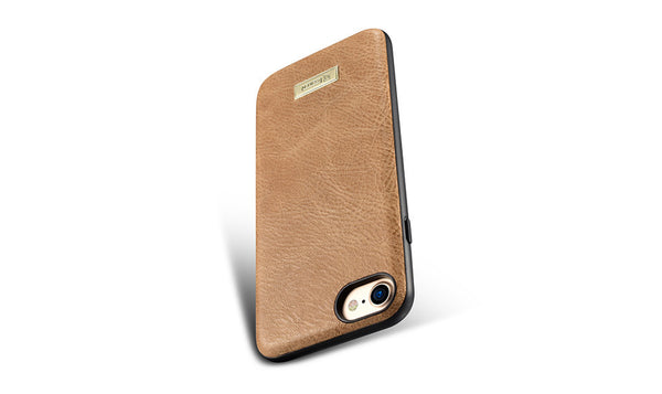 Luxury Leather PU Back Protection Shell Case for iPhone 7
