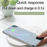 Baseus 2 in 1 Wireless Charger Pad For iPhone & Apple Watch