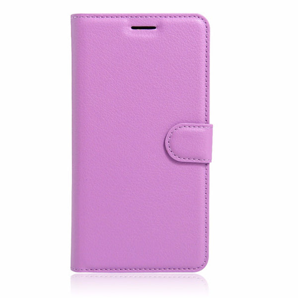 Luxury Lychee Print PU Leather Shell Back Case for Apple iPhone 7 & 7 Plus