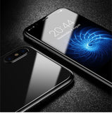5D Round Curved Edge Screen Front+Back Protector for iPhone X