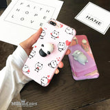 3D Cute Soft Silicone Toy Squishy Phone Case for iPhone 7 7 plus