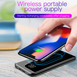 Baseus LCD 8000mAh Wireless Charger + Power Bank