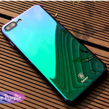iPhone 7,7 Plus Ultra Clear Aura  Mirror Plating Hard Coque Cover