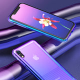 Baseus Shockproof Gradient Case For iPhone XS
