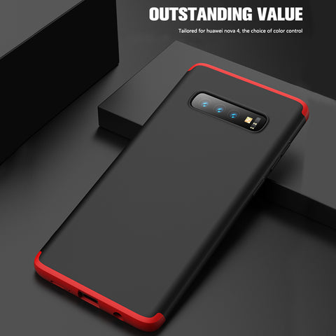 GKK 360 Full Protection Hard Matte Case For Galaxy S10/ S10 Plus
