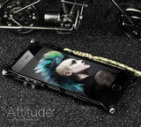 Original iPhone 7, iPhone 7 Plus Armor Heavy Dust Metal Aluminum IRONMAN Protect Skeleton Case