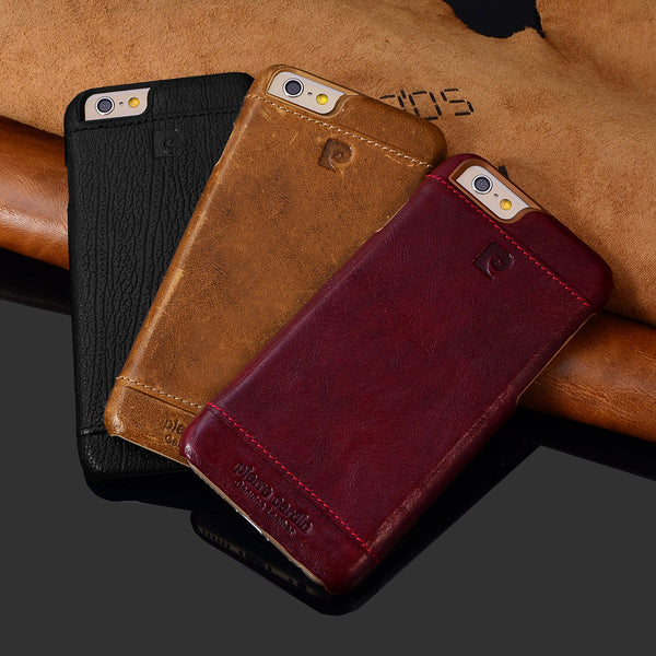 iPhone 7, 7 Plus Original Pierre Cardin Genuine Leather Case