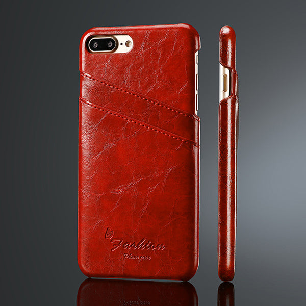 best quality 92cde e6d30 Luxury Leather Case for iPhone 7 / 7 Plus