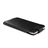 Luxury Genuine Leather iPhone 6/6 Plus, 6S/6S Plus Pouch with Litchi Textured Buckle